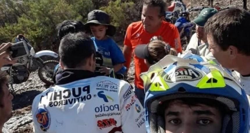 Tiene 5 años, pasó una noche perdido en un desierto y fue encontrado por un piloto de Dakar: el milagro de Benjamín