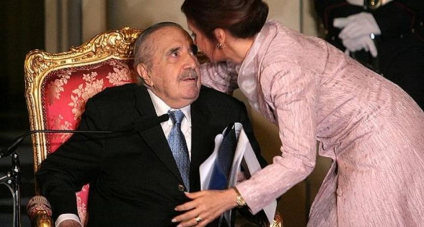 El homenaje de Cristina Kirchner a Raúl Alfonsín a diez años de su muerte