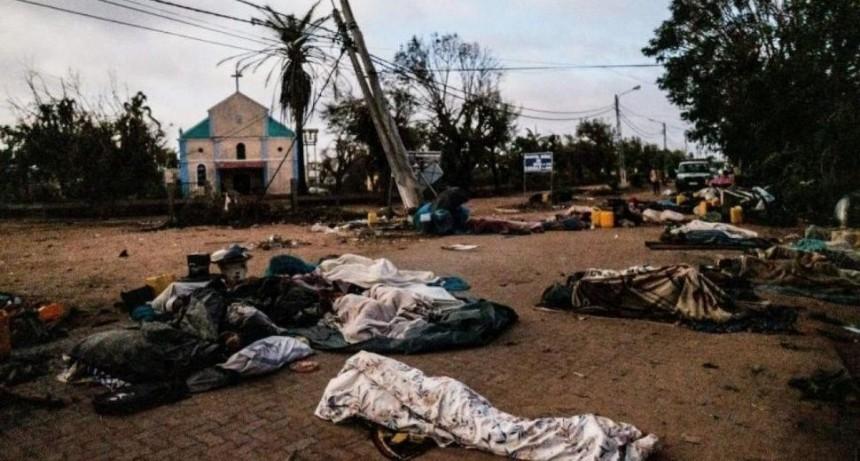 Ya son 518 los muertos y 517 los casos de cólera en Mozambique por el ciclón Idai