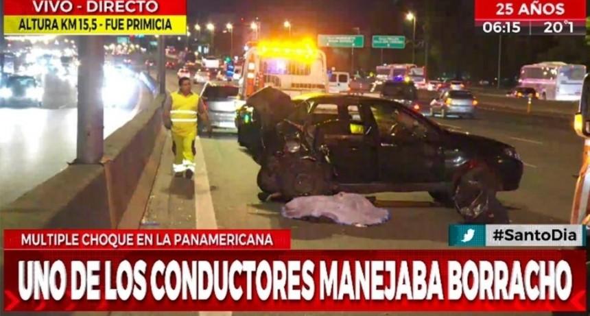 Borracho al volante chocó de atrás a un Uber y mató a la pasajera