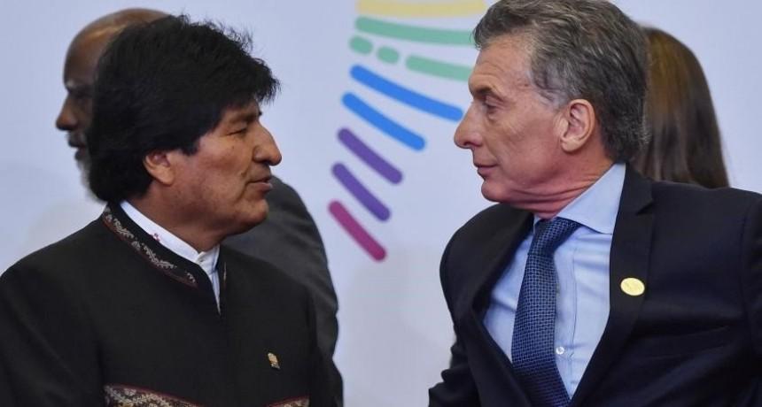 Evo ya está en el país y se reunirá con Macri por el gas, el Mundial y la salud