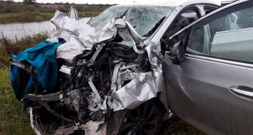 Tragedia en Santa Fe: murieron cinco personas en un choque frontal de autos