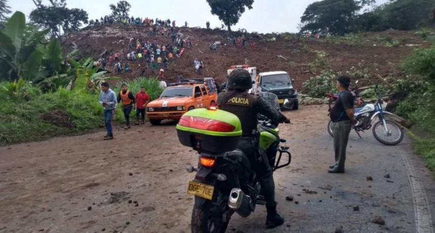 Ascienden los muertos por el deslizamiento de tierra en Colombia