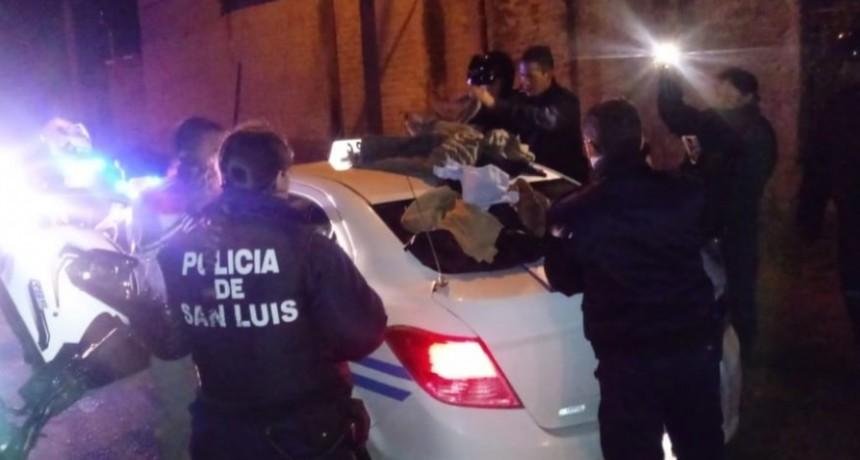 San Luis: motoristas del DRIM detuvieron a un taxista