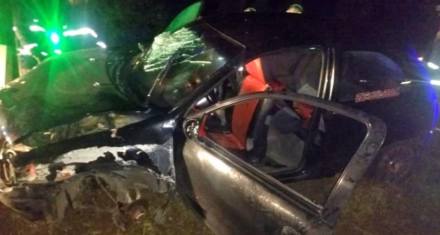 San Luis: accidente en la Ruta 147