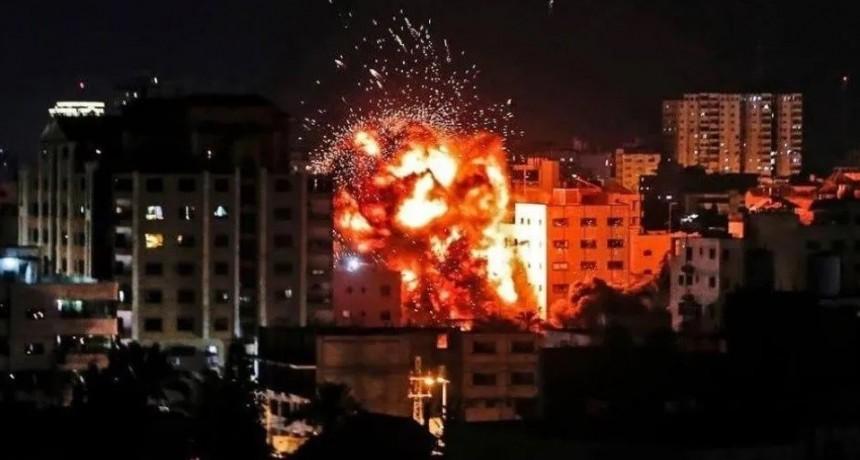 Mortales bombazos entre Israel y Palestina: impactantes videos