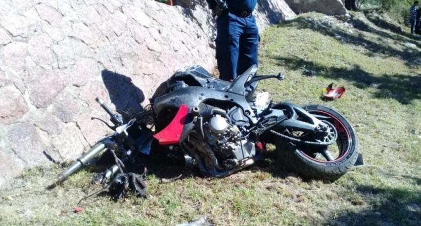 San Luis: accidente fatal, un motociclista murió en la Avenida del Portezuelo