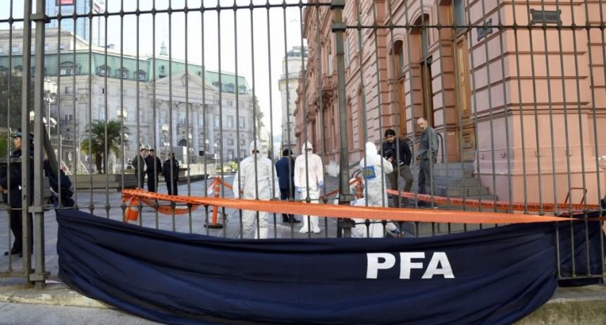 Rechazaron la excarcelación del hombre que quiso entrar con un revólver a la Casa Rosada