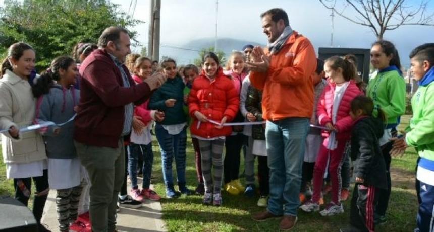 Los vecinos de Villa del Carmen cuentan con un nuevo espacio recreativo