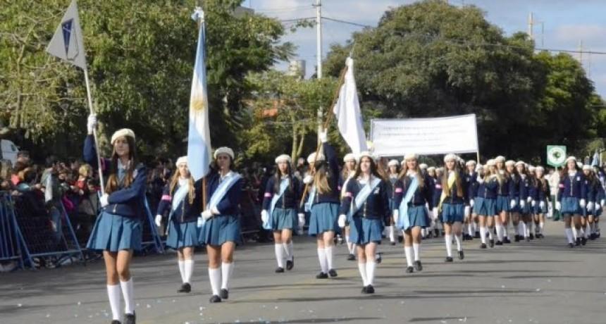 Este 25 de mayo el desfile se hará en la Avenida España