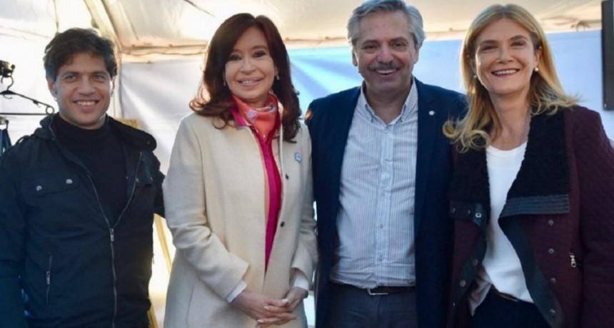 Kicillof y Magario, la fórmula que le disputará a Vidal la gobernación bonaerense