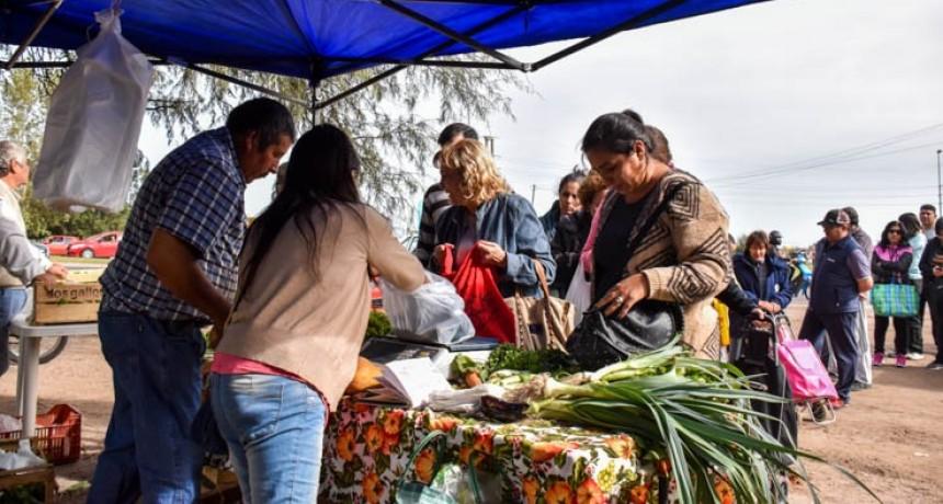 Sol Puntano llega al barrio Pueblo Nuevo
