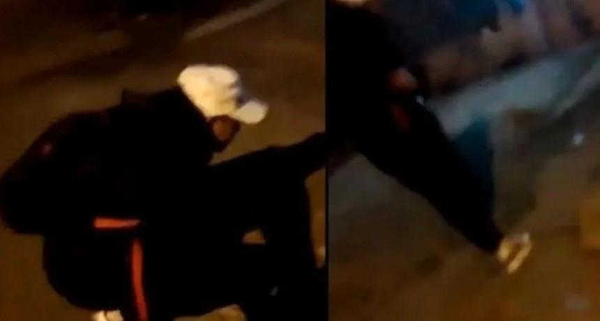 Le dio brutal patada un gato, lo filmó y subió el video a Instagram