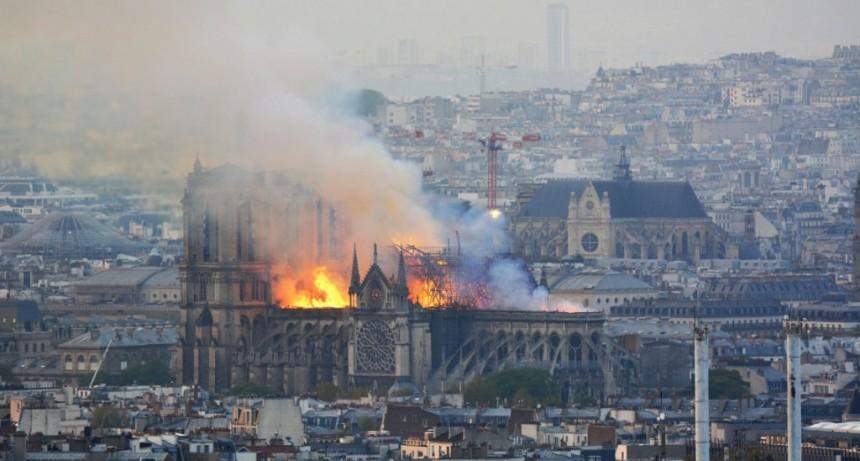 Analizarán si las familias que viven cerca de Notre Dame tienen plomo en sangre