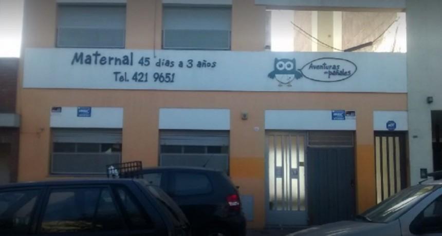 Clausuraron el jardín maternal en el que una maestra maltrataba a bebés en La Plata