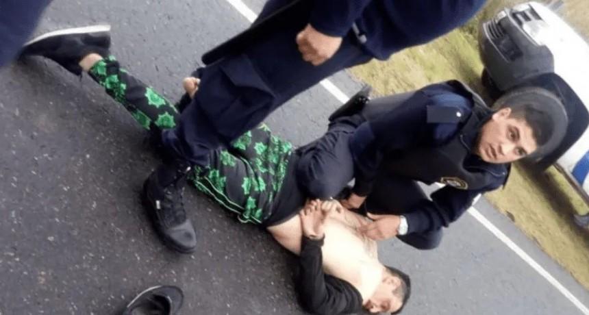 La ligó: Cantante de cumbia cayó tras amenazar a una mujer y atropellar a un policía