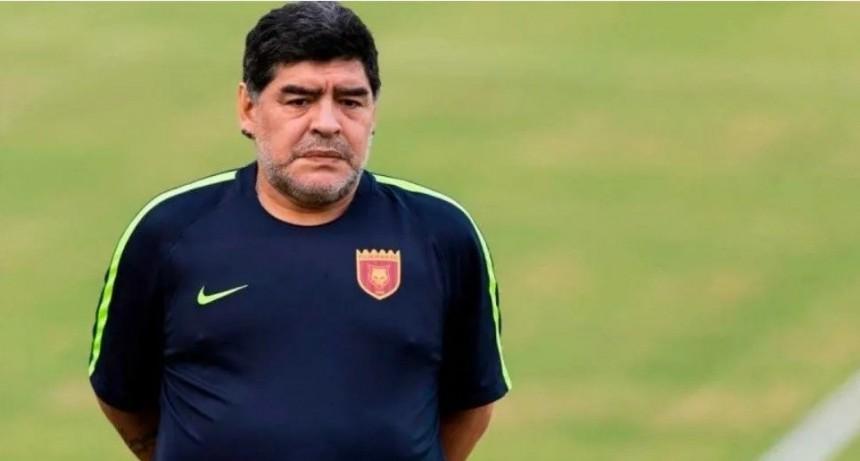 Preocupación por la salud de Maradona