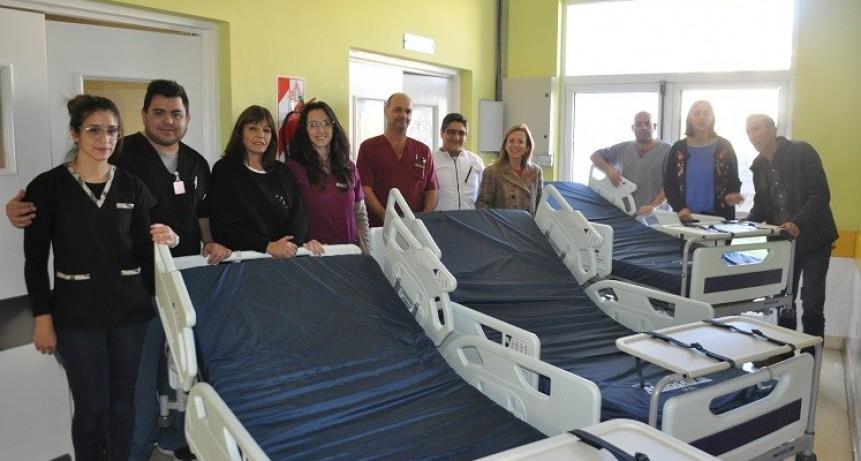 El Gobierno de San Luis entregó equipamiento en la Maternidad Provincial