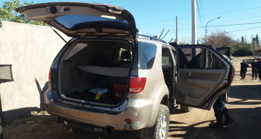 San Luis: dejó su camioneta estacionada en el centro de la ciudad y apareció en el barrio Juan Domingo Perón
