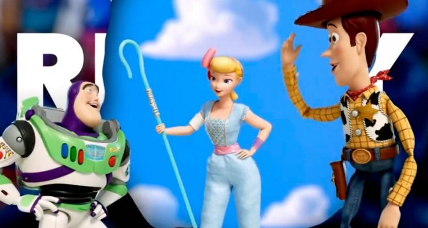 Toy Story 4 rompió todos los récords en su primer fin de semana en el país
