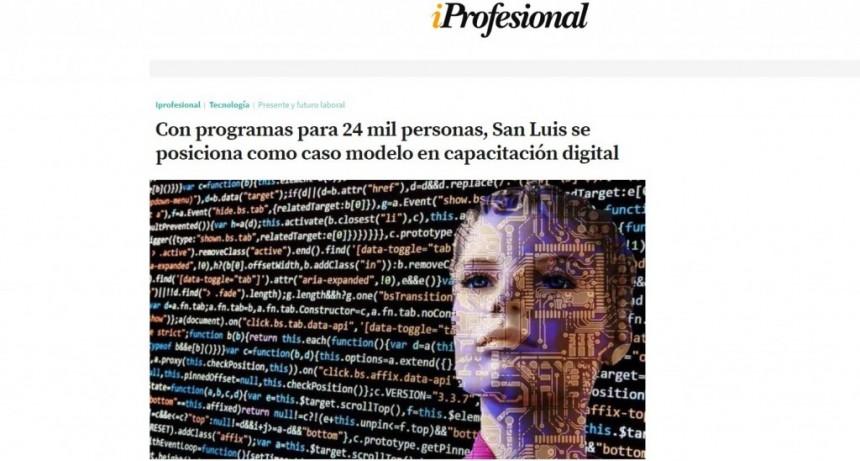 Destacan a San Luis por sus políticas inclusivas de formación digital