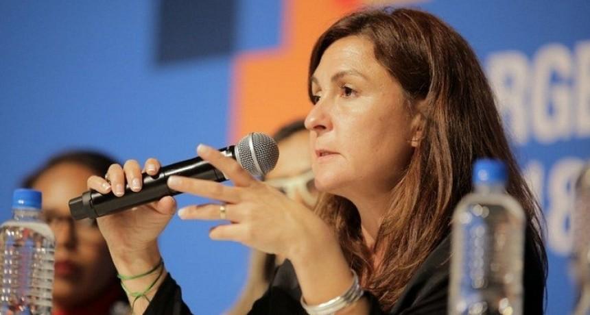 La ministra Calderón disertará en el XIV Foro Latinoamericano de Educación