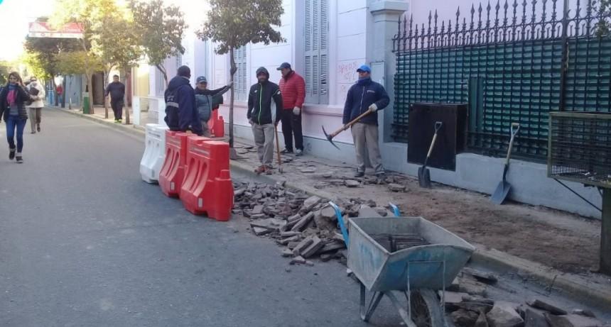 La Municipalidad desmintió que la obra de Colón haya provocado una pérdida de gas en la Bazán