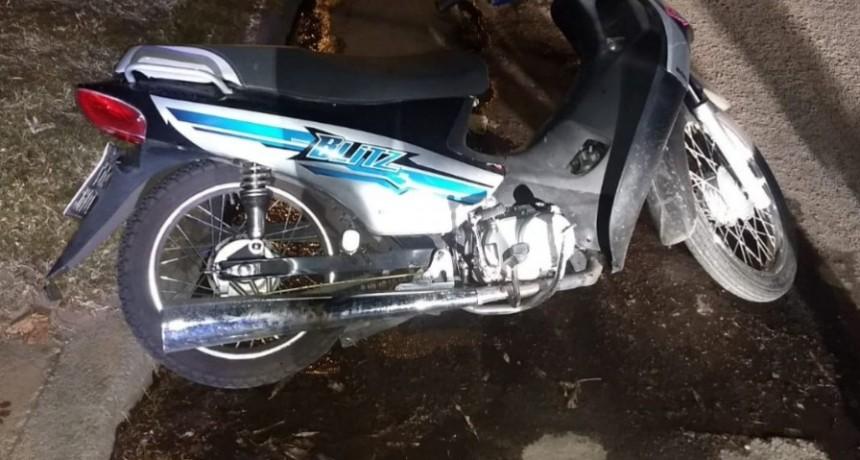San Luis: robó una moto y fue detenido