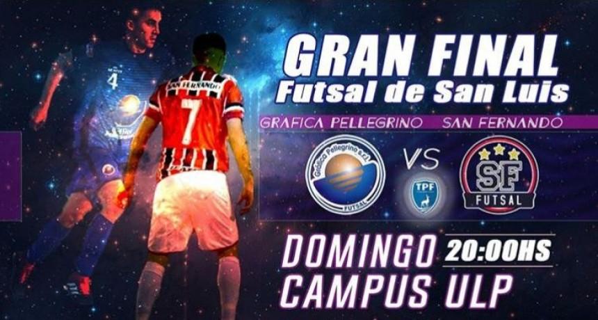 Hoy se define al nuevo campeón del Torneo Apertura de Futsal