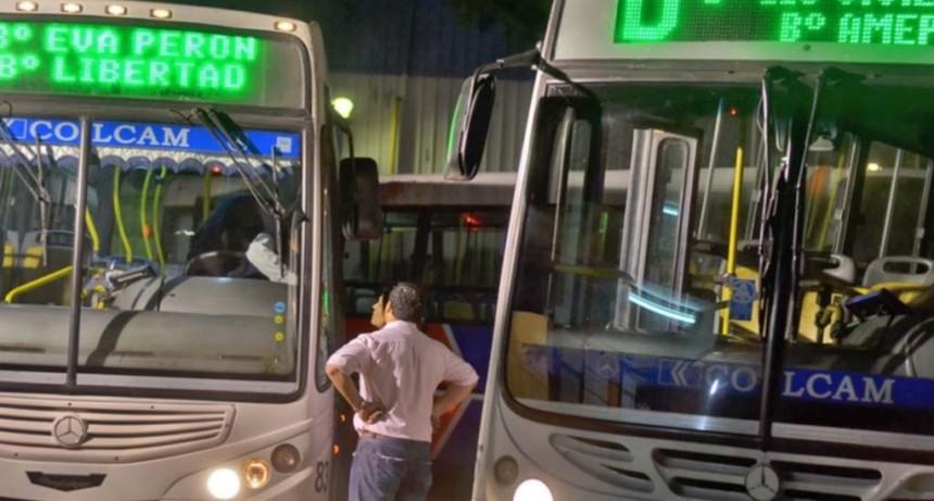 Transporte: el servicio funcionará con normalidad en las primeras horas de este lunes