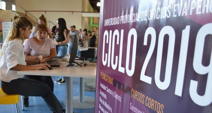 Cerraron las inscripciones en la UPrO: hay 1.322 nuevos alumnos