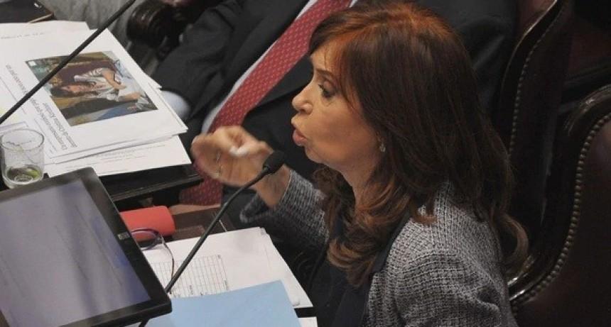 El Gobierno cree que el discurso de Cristina Kirchner en el Senado fue el lanzamiento de su campaña presidencial