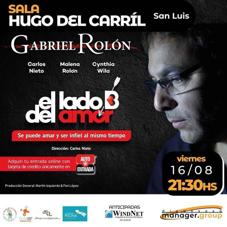 Gabriel Rolón por primera vez en San Luis