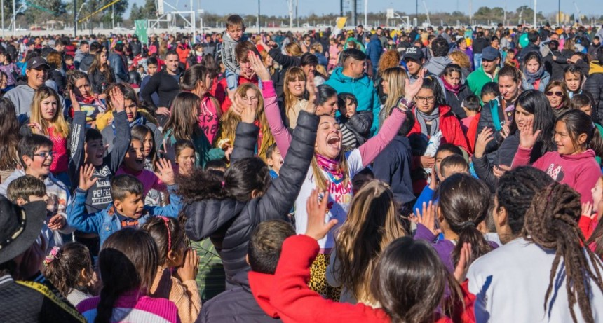 El Gobierno de San Luis festeja el Día del Niño en sus predios provinciales