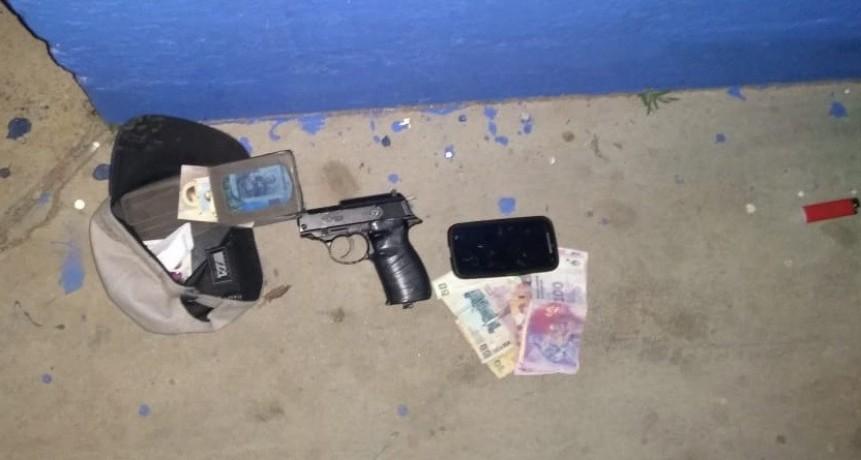 San Luis: detuvieron a dos hombres que robaron una escalera