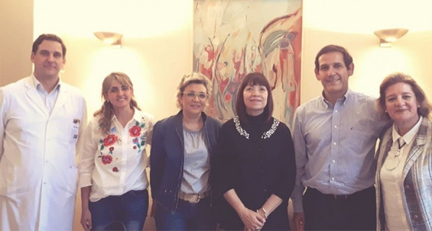 La ministra Corvalán se reunió con el director de la Fundación Fundaleu