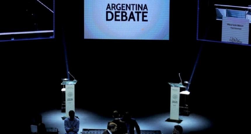 Primer round: qué podrán hacer y qué no los candidatos en el debate presidencial