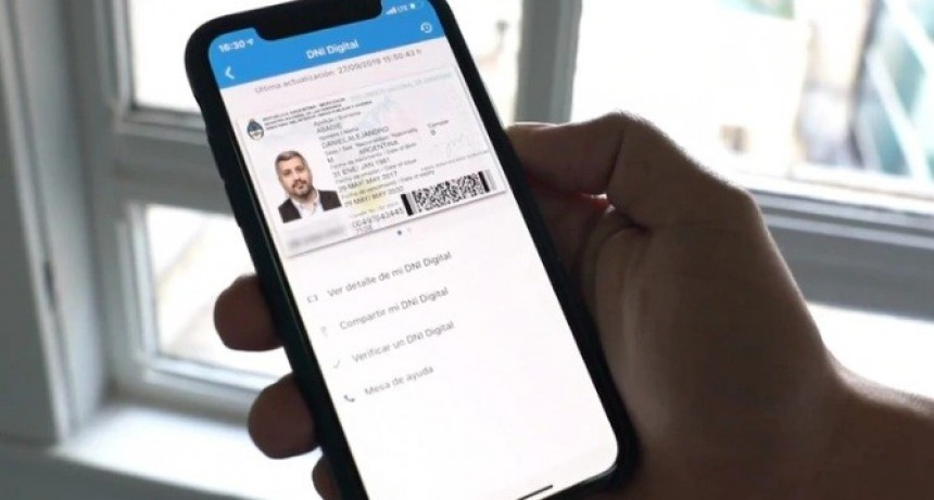 El Gobierno oficializó el documento digital para celulares