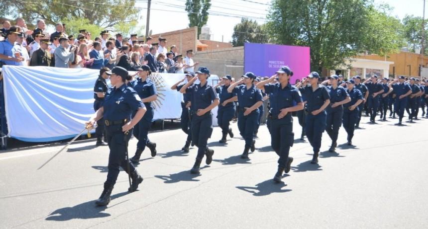 La Policía provincial celebró un nuevo aniversario al servicio de la comunidad