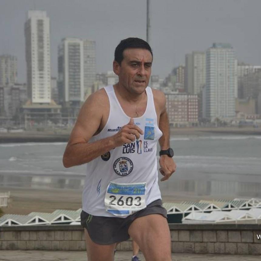 Juan, el atleta puntano que deslumbra
