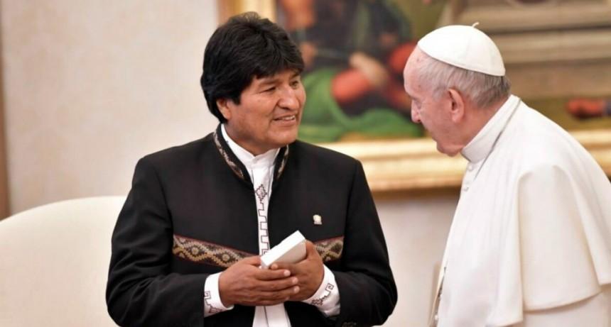 Evo Morales pidió que la ONU, Europa y el Vaticano intercedan por la paz
