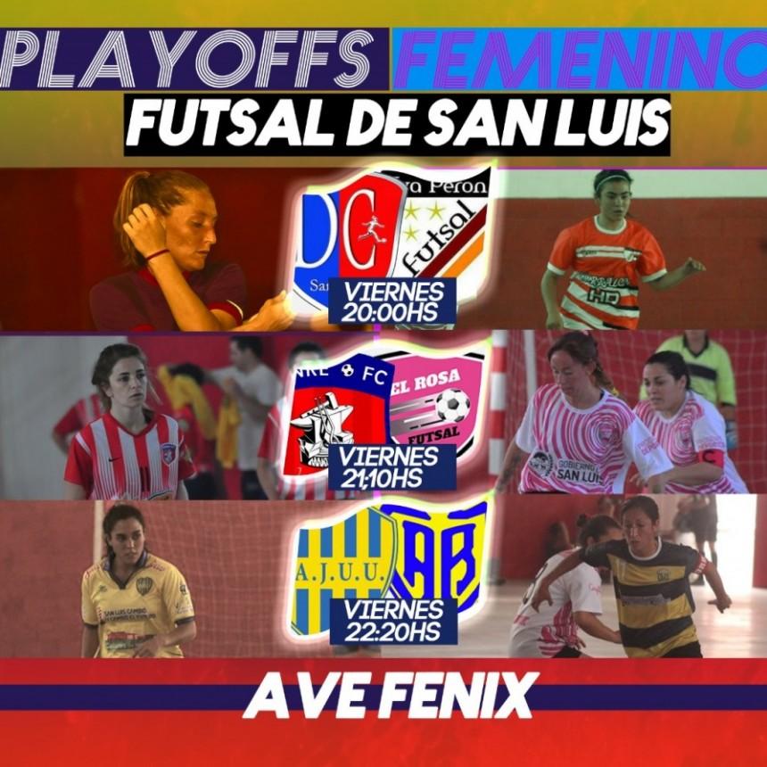 Mañana comienzan los PlayOffs del Futsal Femenino