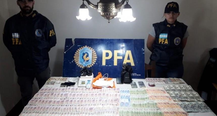 San Luis: la Policía Federal secuestró cocaína, vehículos y detuvo a tres personas