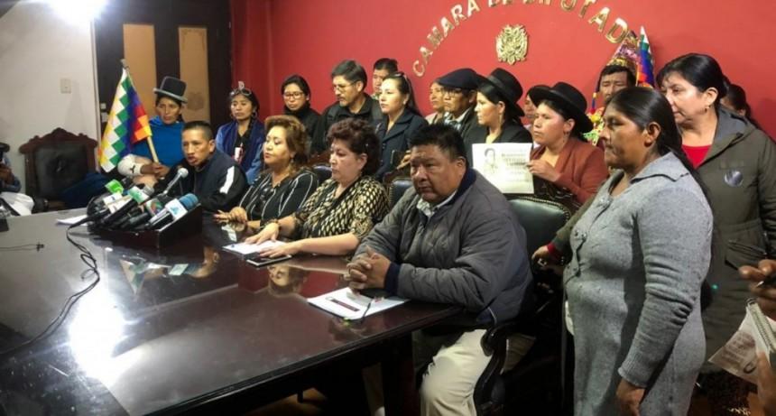 La policía de Bolivia busca negociar