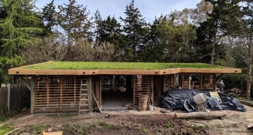 """El boom de la """"bioconstrucción"""": los que eligen casas más baratas, ecológicas y comunitarias"""