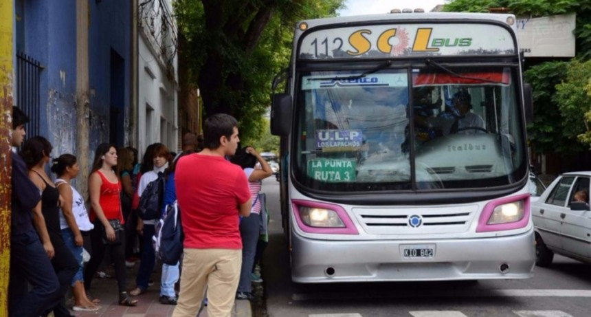 El domingo aumenta la tarifa del transporte interurbano