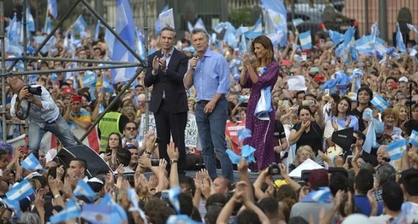 """Mauricio Macri, en su despedida: """"Alberto Fernández va a encontrar una oposición constructiva y no destructiva"""""""