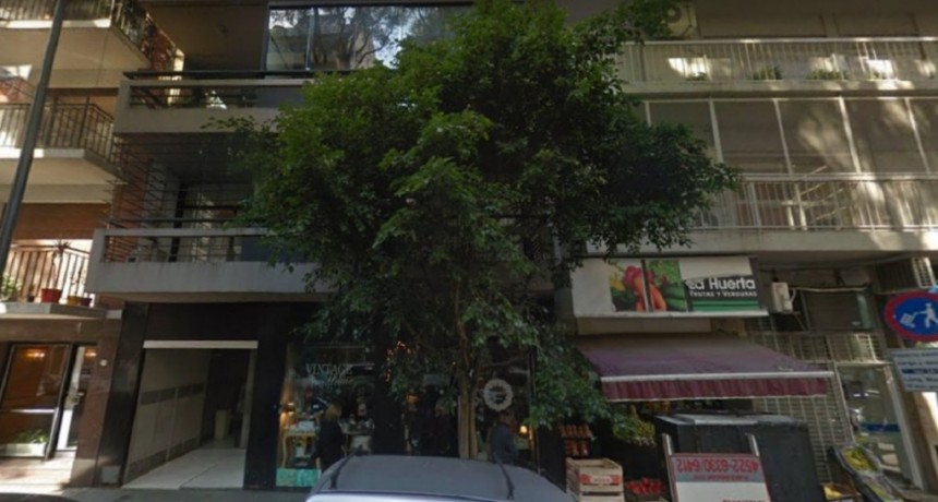 Belgrano: un joven murió tras caer de un quinto piso