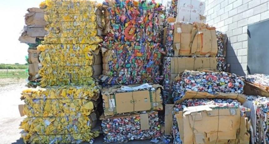 La Provincia recuperó más de 2 mil toneladas de material reciclable en lo que va del año