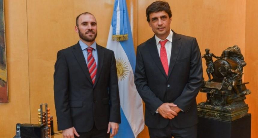 Transición en Economía: se reunieron Martín Guzmán y Hernán Lacunza
